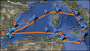 Over the past years, the Aurora team has traveled throughout the Mediterranean setting up and implementing projects